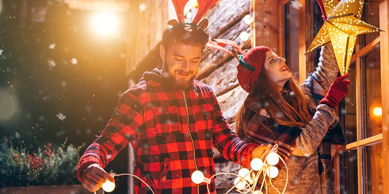 Elektrische Weihnachtsbeleuchtung Garten.Mit Dieser Beleuchtung Verzaubern Sie Ihr Zuhause